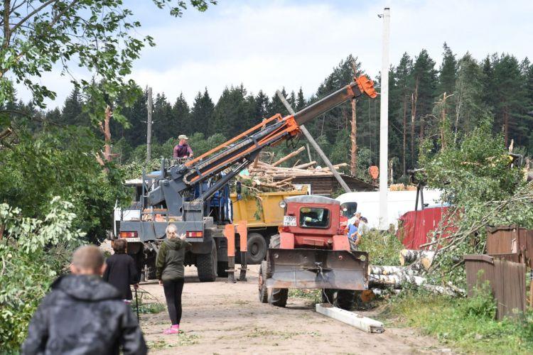 Игорь Руденя поручил приобрести жилье для андреапольцев, чьи дома были разрушены в результате стихии
