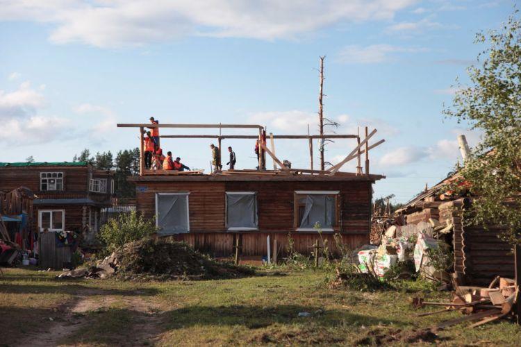 В Андреаполе Тверской области продолжаются восстановительные работы