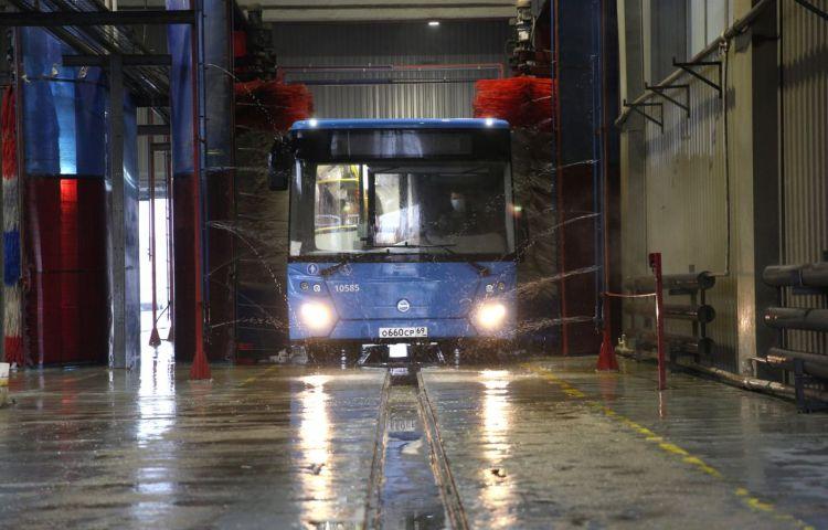 Все автобусы общественного транспорта в Тверской области проходят регулярную дезинфекцию для профилактики COVID-19